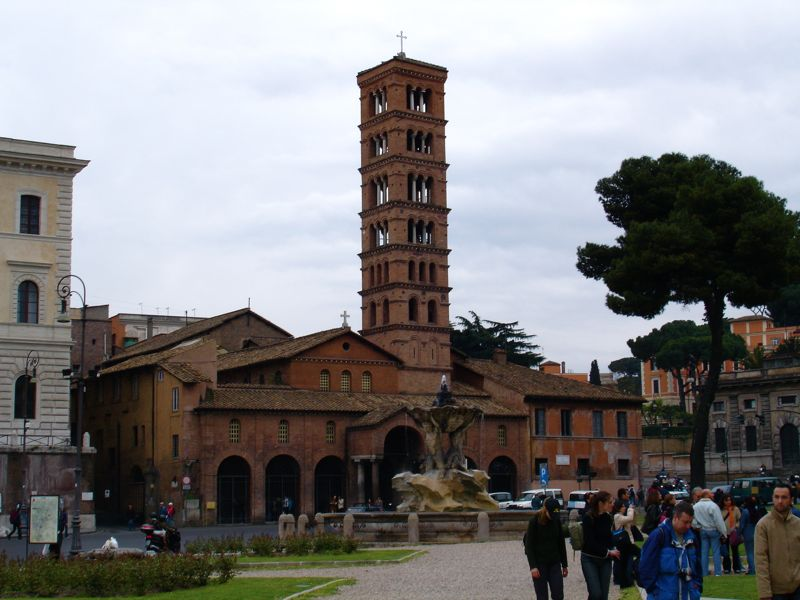 church of Santa Maria in Cosmedin in Rome