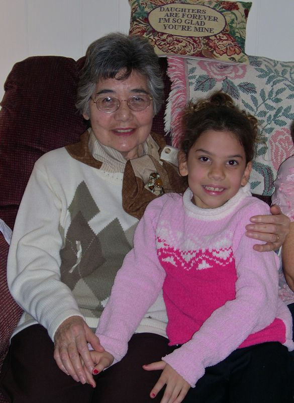 grandmothers, mothers, daughters and granddaughters